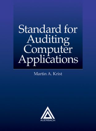 Standard for Auditing Computer Applications: 2nd Edition (Paperback) book cover