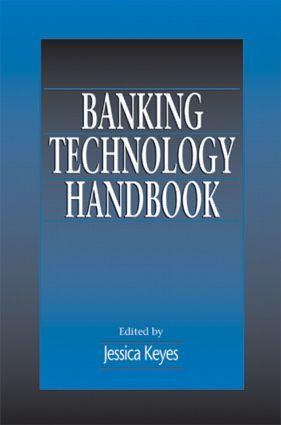 Banking Technology Handbook: 1st Edition (Hardback) book cover