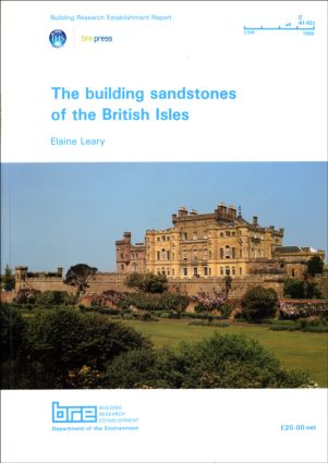 The Building Sandstones of the British Isles: (BR 84) (Paperback) book cover