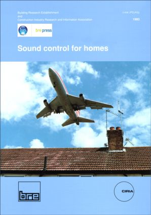 Sound Control for Homes: (BR 238), 1st Edition (Paperback) book cover