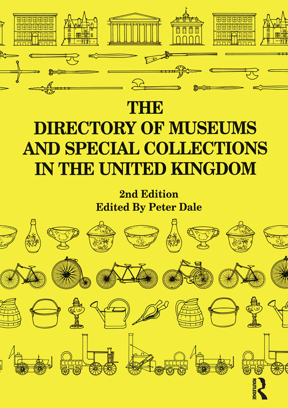 The Directory of Museums and Special Collections in the UK: 1st Edition (Paperback) book cover