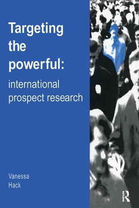 Targeting the Powerful: International Prospect Research book cover