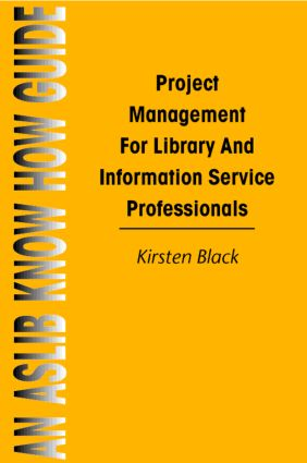 Project Management for Library and Information Service book cover