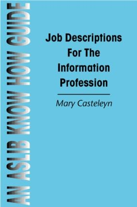 Job Descriptions for the Information Profession book cover