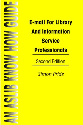 Email For Library&Info Serv Pr: 1st Edition (Paperback) book cover