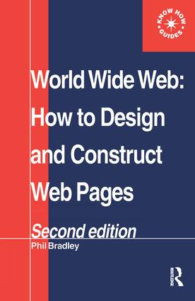 World Wide Web: How to design and Construct Web Pages book cover