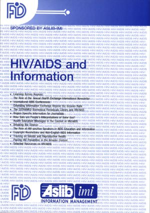 HIV/AIDS and Information book cover