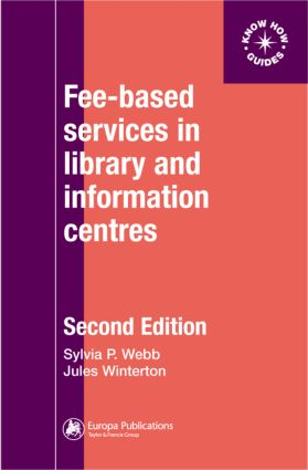 Fee-Based Services in Library and Information Centres book cover