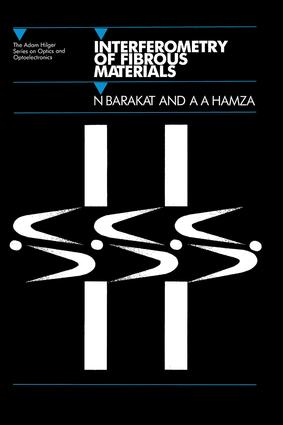 Interferometry of Fibrous Materials: 1st Edition (Hardback) book cover