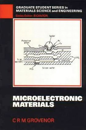 Microelectronic Materials: 1st Edition (Paperback) book cover