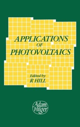 Applications of Photovoltaics: 1st Edition (Hardback) book cover