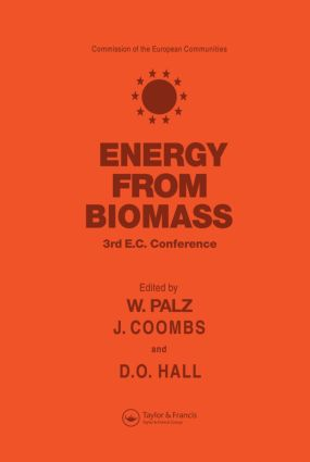 Energy from the Biomass: Third EC conference, 1st Edition (Hardback) book cover