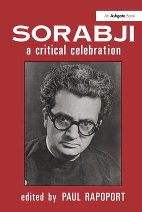 Sorabji: A Critical Celebration (Hardback) book cover