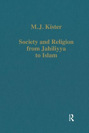 Society and Religion from Jahiliyya to Islam