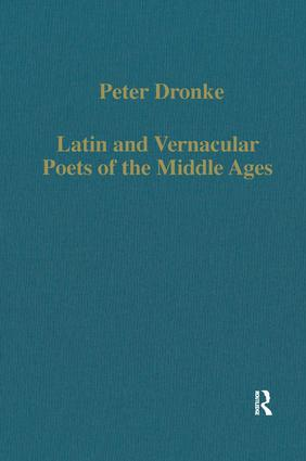 Latin and Vernacular Poets of the Middle Ages: 1st Edition (Hardback) book cover