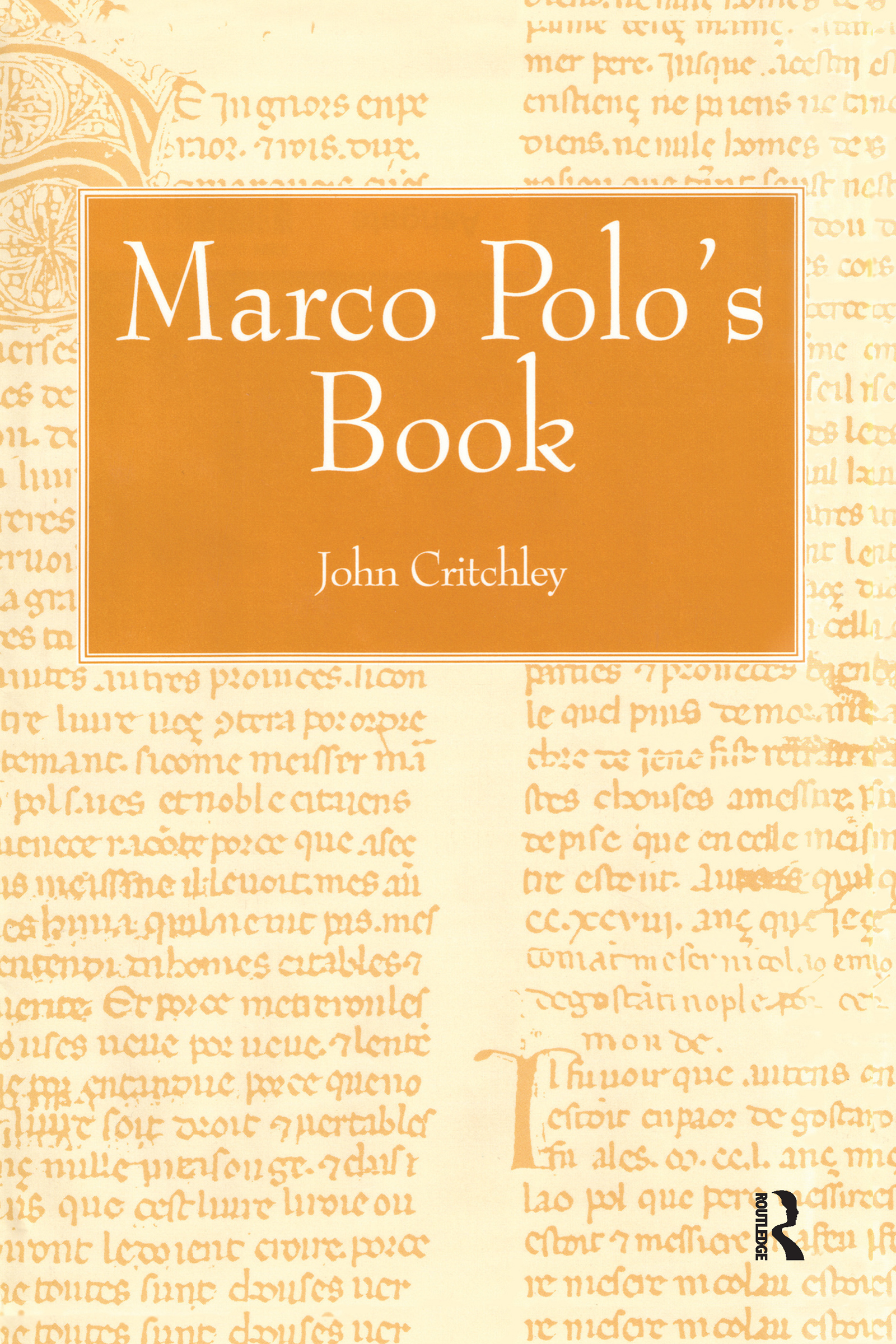 Marco Polo's Book: 1st Edition (Hardback) book cover