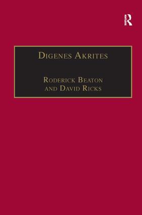 The Grottaferrata version of Digenes Akrites: a reassessment