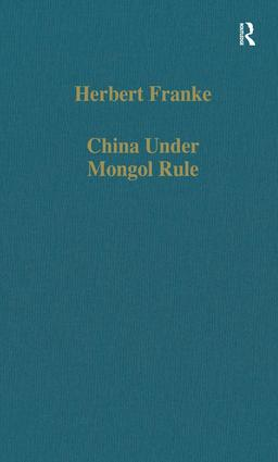 China Under Mongol Rule: 1st Edition (Hardback) book cover