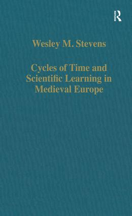 Cycles of Time and Scientific Learning in Medieval Europe: 1st Edition (Hardback) book cover