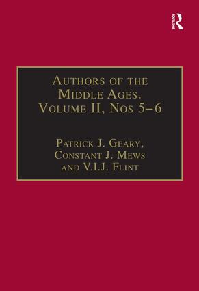 Authors of the Middle Ages, Volume II, Nos 5–6: Historical and Religious Writers of the Latin West, 1st Edition (Hardback) book cover