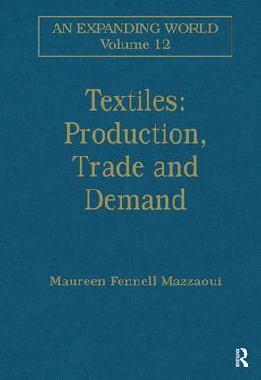 Textiles: Production, Trade and Demand: 1st Edition (Hardback) book cover