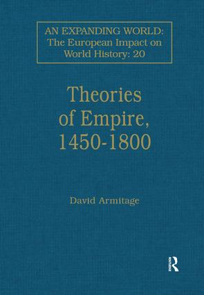 Theories of Empire, 1450–1800 book cover