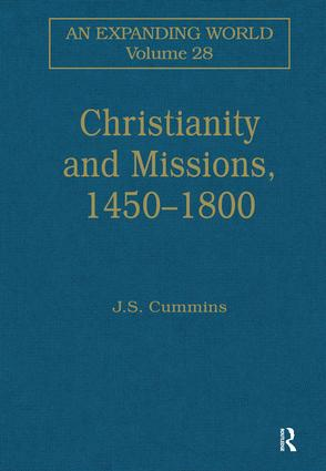 Christianity and Missions, 1450–1800: 1st Edition (Hardback) book cover