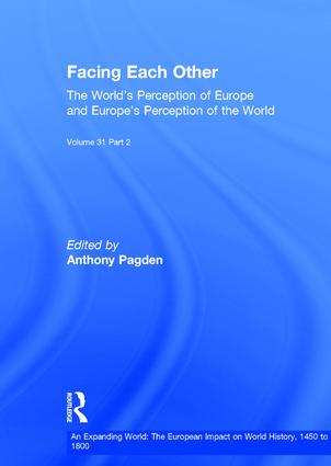 Facing Each Other (2 Volumes): The World's Perception of Europe and Europe's Perception of the World, 1st Edition (Hardback) book cover