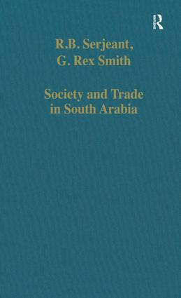 Society and Trade in South Arabia: 1st Edition (Hardback) book cover