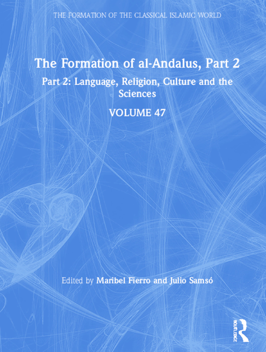 The Formation of al-Andalus, Part 2: Language, Religion, Culture and the Sciences book cover
