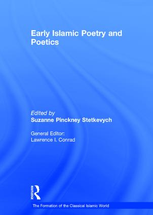 Early Islamic Poetry and Poetics: 1st Edition (Hardback) book cover