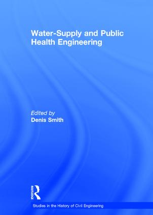 Water-Supply and Public Health Engineering: 1st Edition (Hardback) book cover