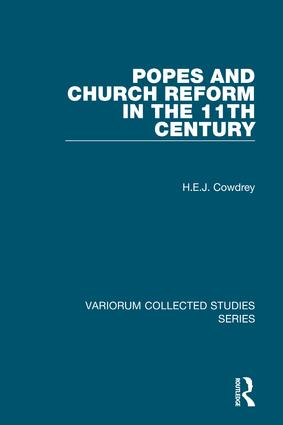 Popes and Church Reform in the 11th Century (Hardback) book cover