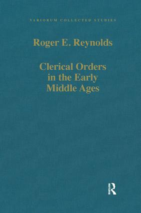 Clerical Orders in the Early Middle Ages: Duties and Ordination book cover