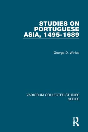 Studies on Portuguese Asia, 1495-1689 book cover