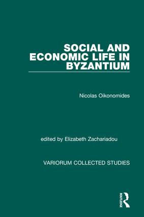 Social and Economic Life in Byzantium: 1st Edition (Hardback) book cover