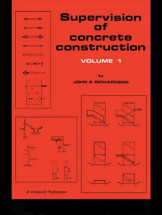 Supervision of Concrete Construction 1 book cover