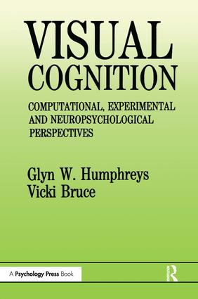 Visual Cognition: Computational, Experimental and Neuropsychological Perspectives (Paperback) book cover