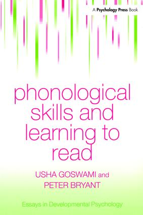 Phonological Skills and Learning to Read (Paperback) book cover