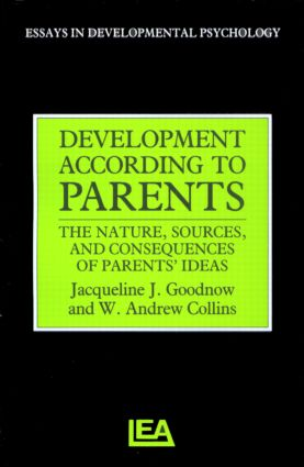 Development According to Parents (Paperback) book cover