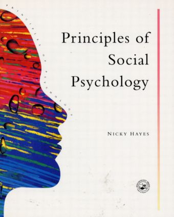Principles Of Social Psychology (Paperback) book cover
