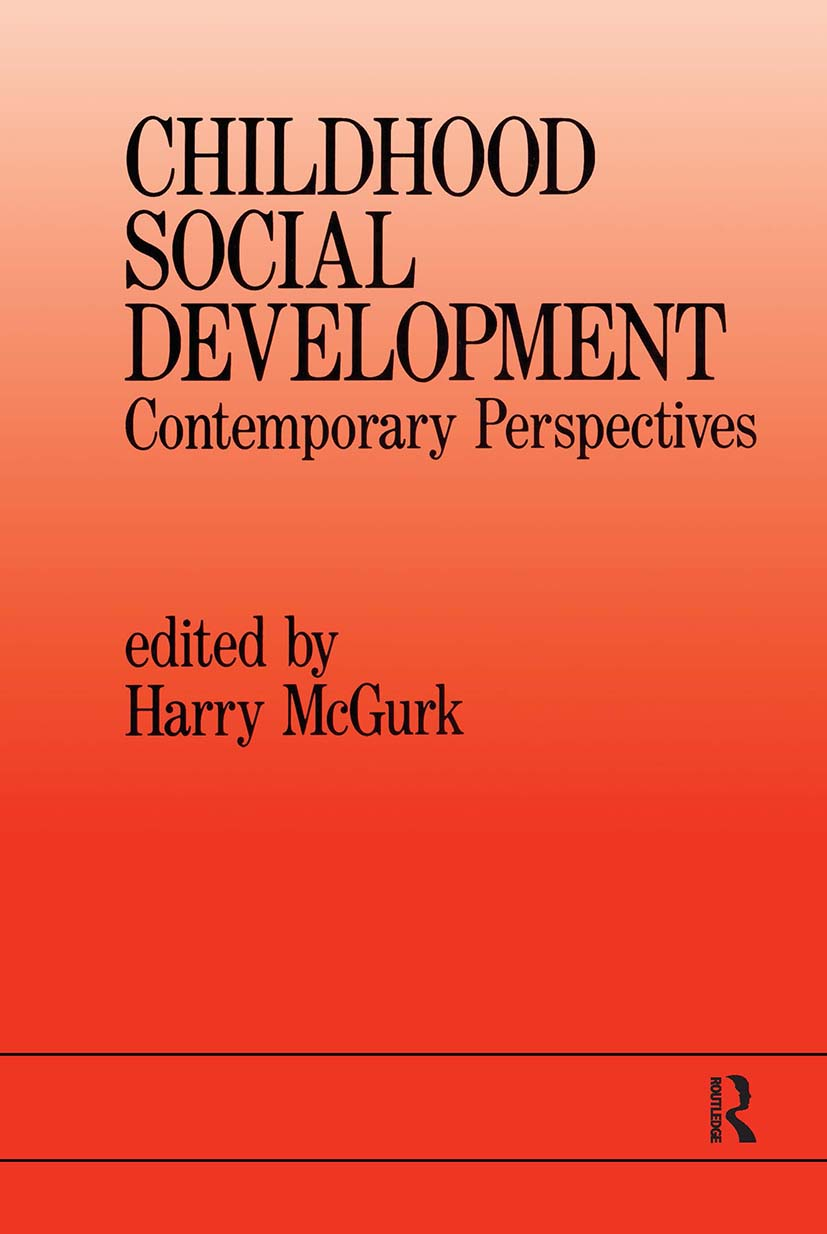Childhood Social Development: Contemporary Perspectives (Paperback) book cover