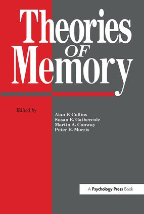 Theories Of Memory: 1st Edition (Hardback) book cover