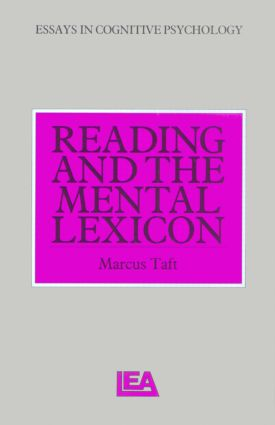 Reading and the Mental Lexicon book cover