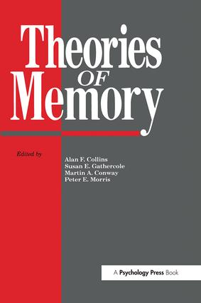 Theories Of Memory: 1st Edition (Paperback) book cover