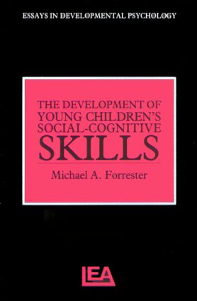The Development of Young Children's Social-Cognitive Skills (Paperback) book cover