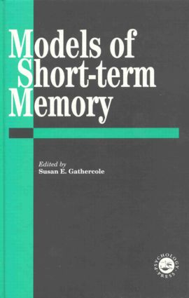 Models Of Short-Term Memory (Hardback) book cover