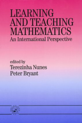 Learning and Teaching Mathematics: An International Perspective (Paperback) book cover