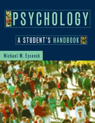 Psychology: A Student's Handbook book cover
