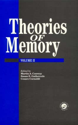 Cognitive Models of Memory: 1st Edition (Paperback) book cover